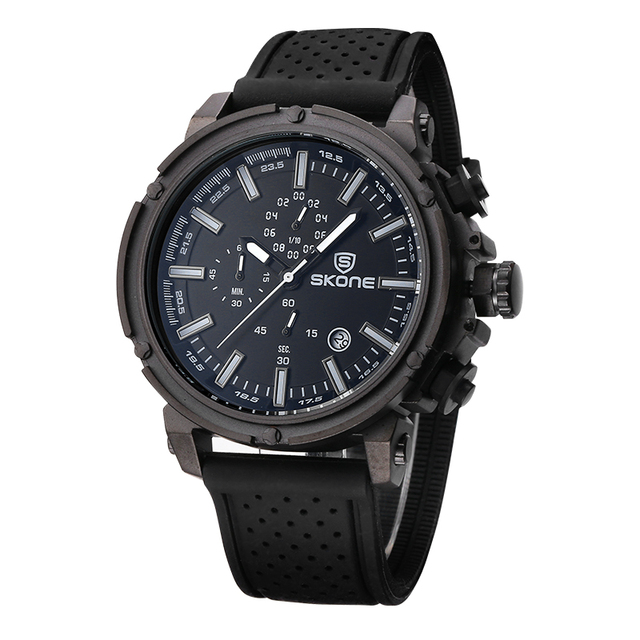 Chronograph Sport Mens Watch Top Brand Luxury Military Quartz For Men 1