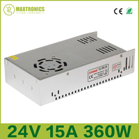 2016 High Quality Dual Output Switching Power Supply 88 264VAC Input 24V 15A Output CE And