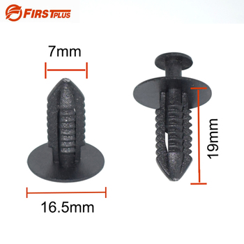 Car Clips Auto Door Trim Panel Fender Bumper Fastener Retainer Rivets For Mercedes-Benz BMW E39 E36 E30 E34 E46 image