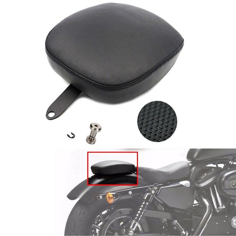 Rear Passenger Pillion Pad Seat For Harley Sportster XL1200 883 72 48 2010-2016