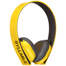 Bluetooth Headset, Syllable G600 Yellow HiFi Stereo Active Noise Cancelling Bluetooth 4.0 Gaming Headset, Wireless Headphones