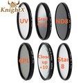 KnightX UV ND star Lens ND slim 58mm filter uv for nikon d60 d7000 d7100 d5300 Canon 1100D 700D 650D 600D mark Lens DSLR Camera