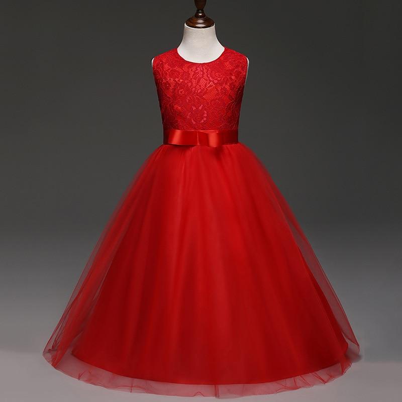 f391ea0da age 8 10 11 12 14 Year Girl Wedding Dress For Party Wear Children ...