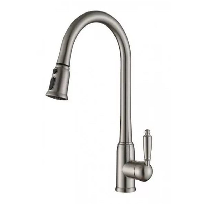 Water Saver Filter Swivel Gooseneck Kitchen Mixer Tap Old Style Pull-out Kitchen Sink Faucet---ORB/Brushed Nickel/Chrome/White china sanitary ware chrome wall mount thermostatic water tap water saver thermostatic shower faucet