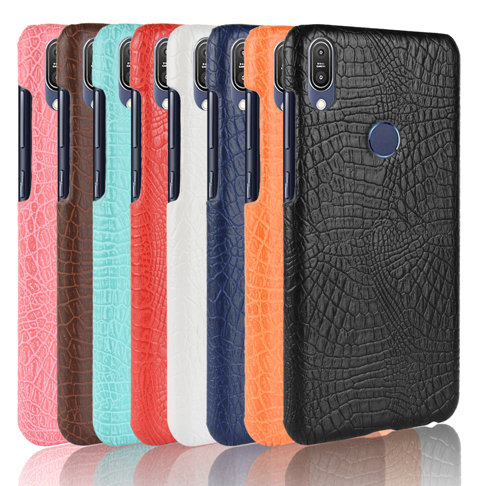 Zenfone Max Pro (M2) ZB631KL PU Leather Back Cover Phone Bumper Fitted Case For ASUS Zenfone Max Pro M1 ZB602KL ZB 602KL X00TD