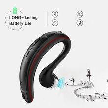 Mini BT80 Handsfree do Fone de ouvido Sem Fio Bluetooth Longa Espera Fones de Ouvido Gancho Negócios Fone de ouvido Microfone para Iphone 5 6 7 8 XS xiaomi