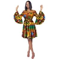 2019 African Dress for Women Dashiki Dress Plus Size African Clothing Bazin Riche Ball Gown Princess Party Dress Vestidos
