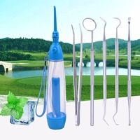 Oral Irrigator Dental Water Flosser Oral Floss Teeth Cleaning Dental Instruments Mouth Mirror Probe Tweezers Pick