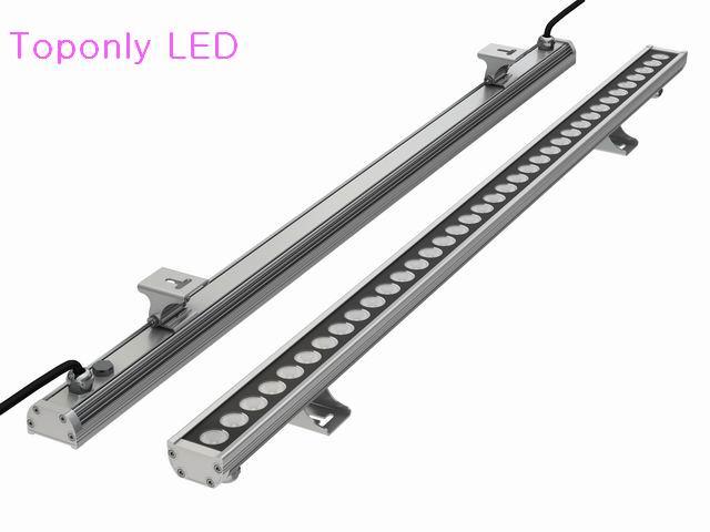 100 cm comprimento IP65 DC24v Edison lâmpada led wallwasher 24 w à prova d' água de alta potência luz da decoração CE & ROHS 48 pçs/lote DHL freeshipping