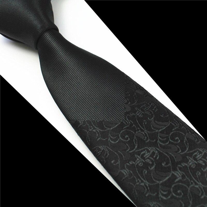 GUSLESON Nuevo Flaco Hombre Corbatas Hombre de lujo Floral Punto - Accesorios para la ropa - foto 5