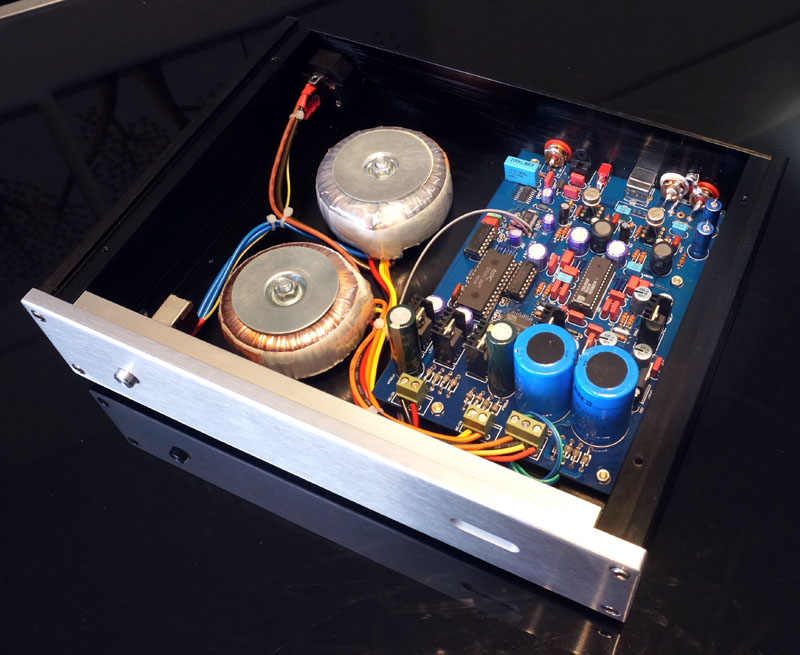 TDA1547 Decoder Set TDA1541 Upgraded Version Double Copper Sunk Plate - 2