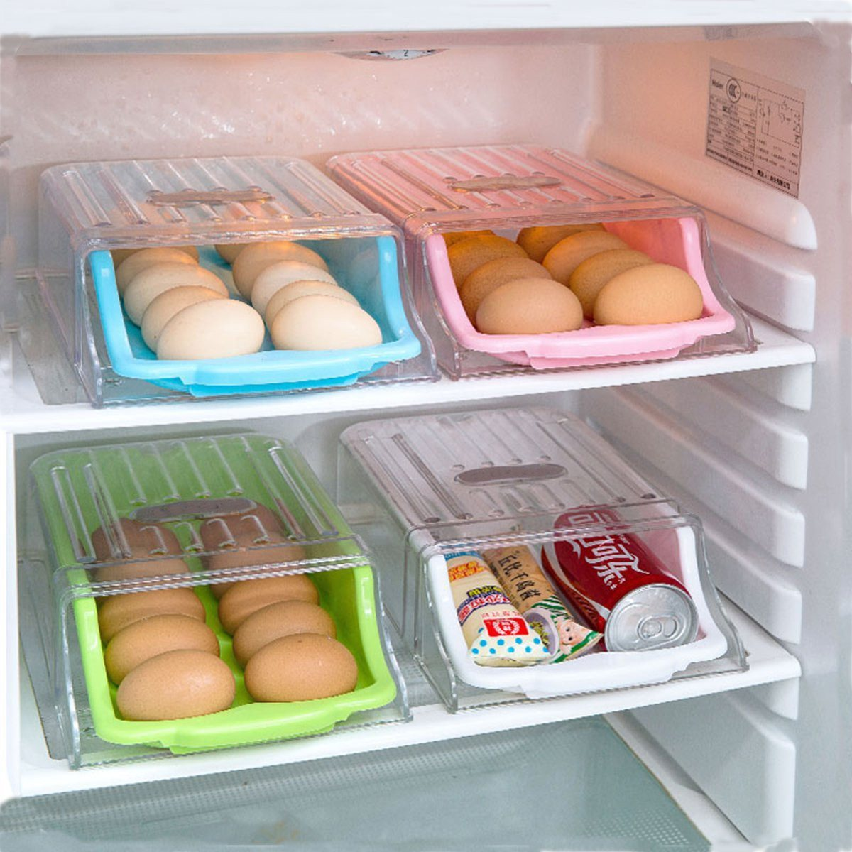 Buy kitchen eggs storage box refrigerator - Stores para cocinas ...