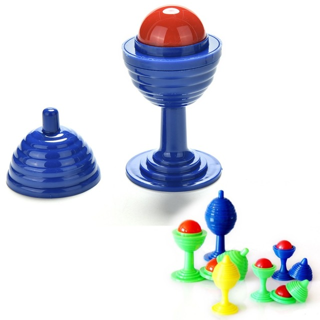 Magic Trick Toy Cup Bead Come Cup Close Up Street Tricks Kids