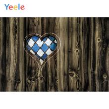 Yeele Wood Natural Texture Love Heart Grunge Decor Photography Backdrop Personalized Photographic Backgrounds For Photo Studio