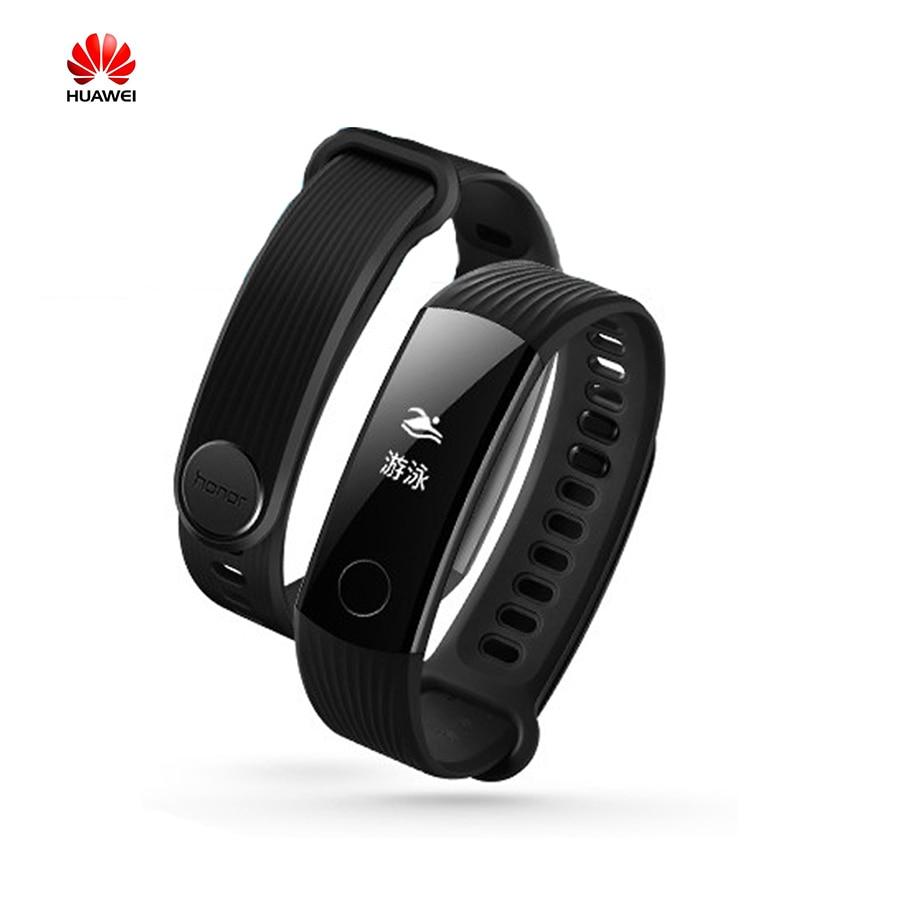 Huawei Honor Band3 50M Waterproof Swimmable 30 days Standby Smart Wristband 0.91 Screen Sleep Heart Rate Monitor KO. Xiaomi