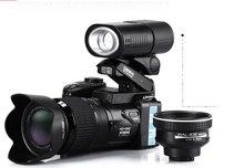 D3200 digital video camera 16 million pixel camera digital Professional camera 21X optical zoom camera plus LED headlamps free