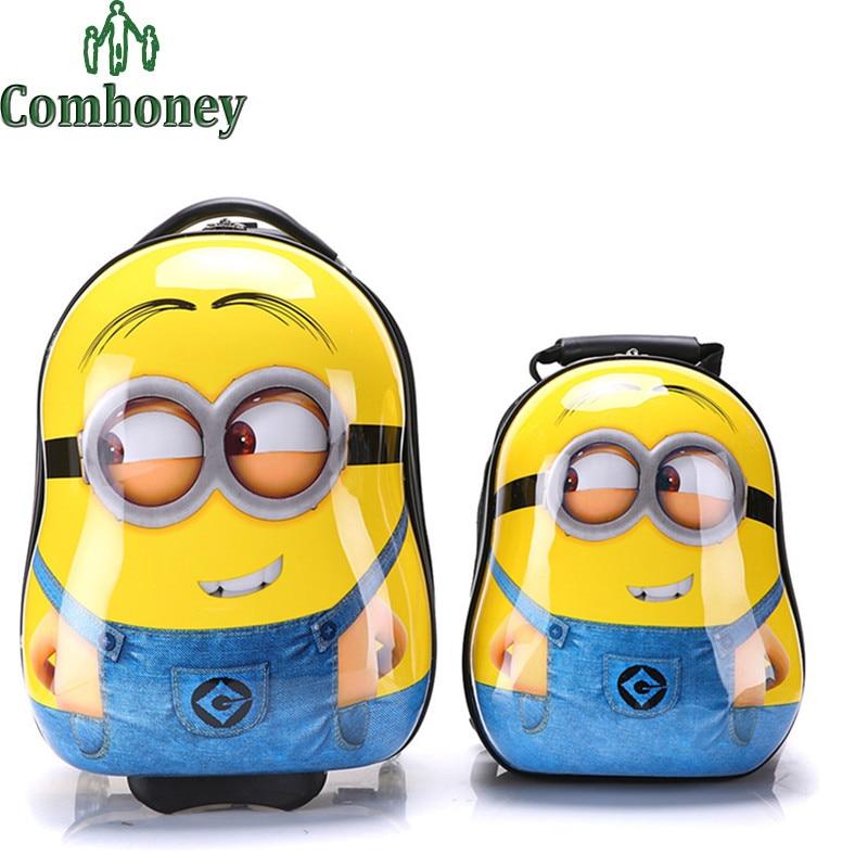Online Get Cheap Kids Suitcase Minion -Aliexpress.com | Alibaba Group