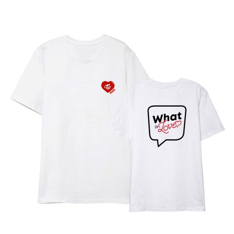 TWICE What is Love concert unisex T shirt short sleeve men T-shirt for summer woman tshirt (2)