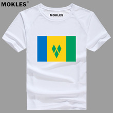 SAINT VINCENT AND THE GRENADINES t shirt diy free custom made name number vct T Shirt
