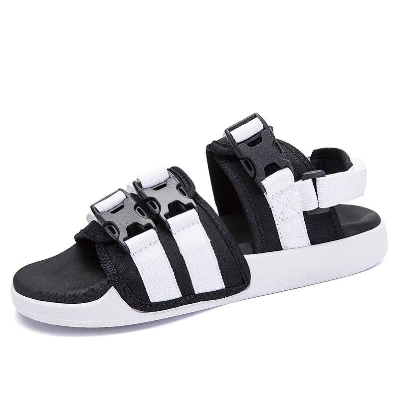Hot Sale Mens Sandals Slippers Summer Shoes For Me Fashion Beach Shoes Sandalias Hombre Sandals For Men White Black Size 39-44