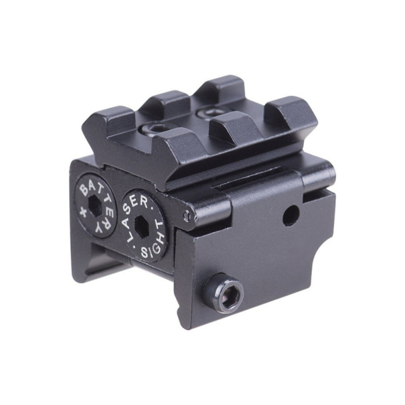 Pocket Red Dotted Danvet Trough Small Laser Sight Waterproof Military Grade Low Profile Compact Red Laser2017 New Arrival