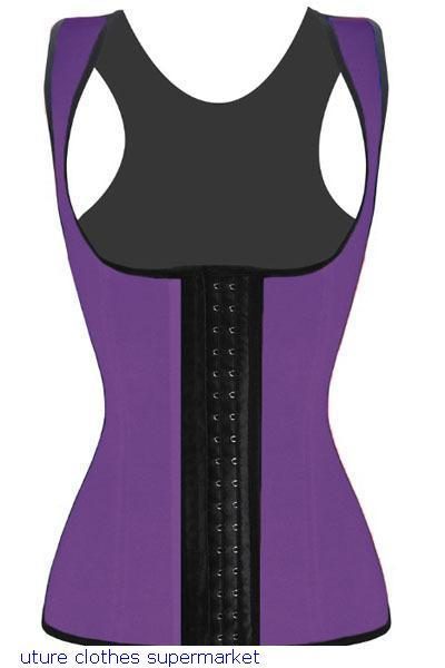 Blue Rose Black waist Cincher corsets sexy women underwear plus size corselet Underbust Corset gothic clothing LC5378