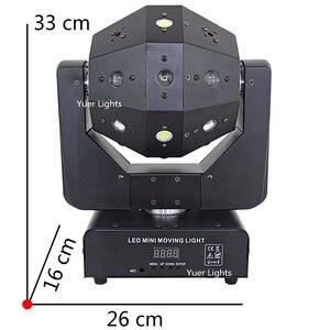 Image 2 - 3IN1 شعاع الليزر ستروب أضواء 16X3W تتحرك رئيس ضوء كرة القدم DMX512 أضواء الليزر DJ/ديسكو/بار/حفلة/عرض/مرحلة الإضاءة