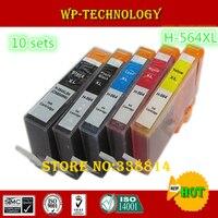 10 Sets Compatible Cartridge For Hp564 H 654XL Suit For HP D5445 D5460 D5463 C6375