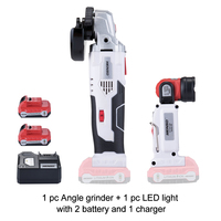 KEINSO/NEWON 12V Angle Grinder and Electric Removable Lamp Set with Lithium Battery for Wood Working and more Cutting Polishing