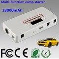 Nova Multifuncional Gasolina Diesel & 18000 mAh 12 V Banco de Potência Do Carro Mini Carro Ir Para Iniciantes Mobile Power com Carregador 1 USB porta