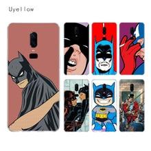 Uyellow DC Batman Superhero Silicone Soft TPU Phone Case For One Plus 7 Pro 6 6T 5 5T Shell Fashion Fundas Printed Cover Coque