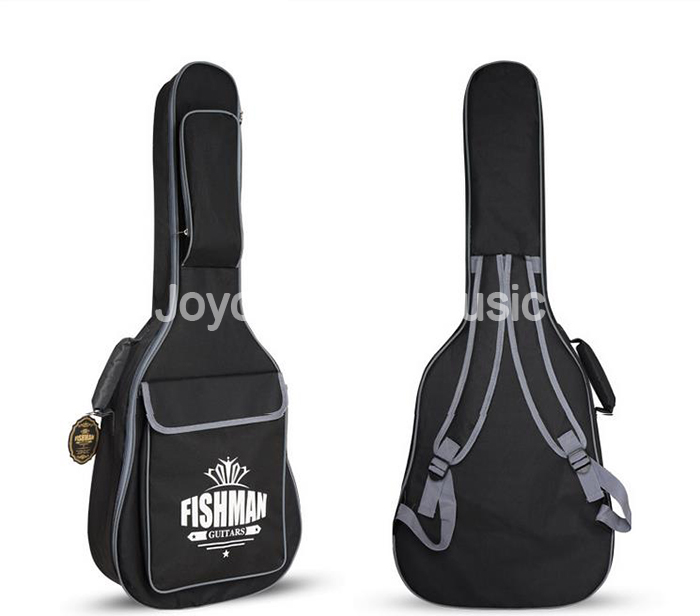 Black 36/41 Acoustic Guitar Bag 600D Nylon Oxford 10mm Thick Waterproof Soft Case d28 600d nylon waterproof bicycle saddle bag black