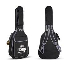 """Negro 41 """"Guitarra Acústica Bolsa de Nylon 600D Oxford Caso Suave de 10mm de Espesor A Prueba"""