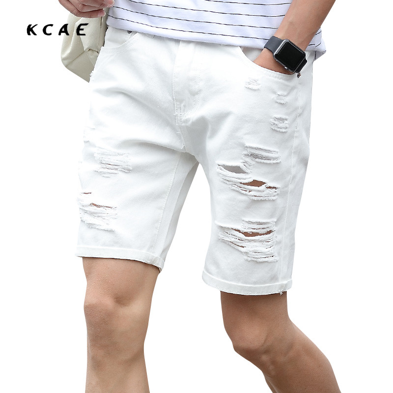 Popular White Denim Shorts Men-Buy Cheap White Denim Shorts Men ...
