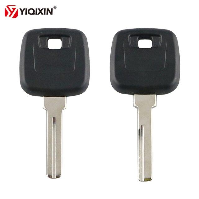 YIQIXIN Replacement Transponder Key Shell Fit For VOLVO S40 V40 S60 S80 XC70 Original Copy Car Key Case Cover NE66/HU56R Blade