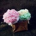 Бесплатная доставка индивидуальные 33 цветов PE / моделирование / искусственные цветы розы романтической свадьбы / свадебный букет