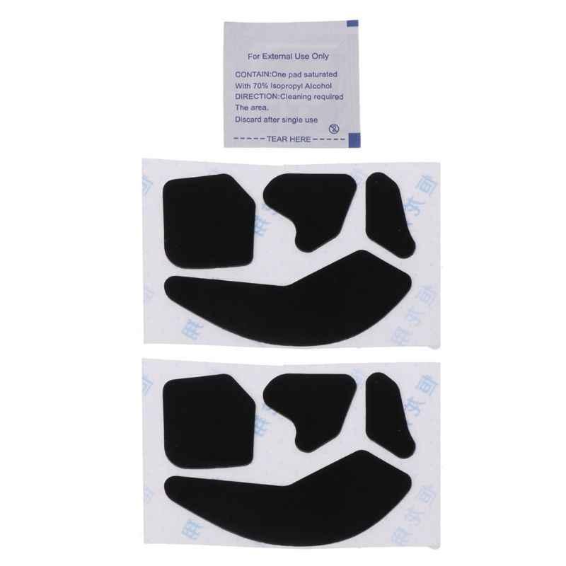 2 مجموعات 0.6 مللي متر تفلون ماوس الزلاجات ملصق الوسادة ل ROCCAT Leadr ماوس RGB اللاسلكية