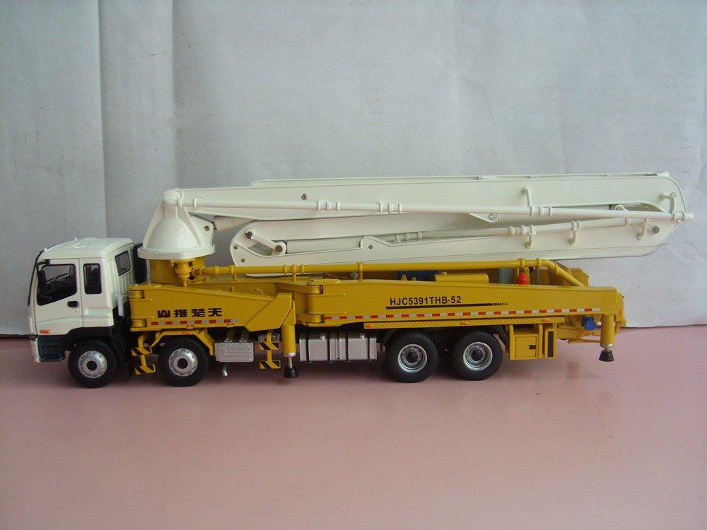 1 38 Shantui Hjc5391thb 52m Concrete Cement Pump Truck Toy