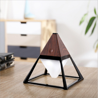 Three dimensional Pyramid Night Light Hanging Waterproof USB Charging Touch Switch Bedside Lamp Reading Lamp Home Floor Lamp