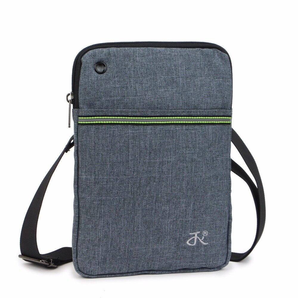 5cd853173 Outdoor Men Women Canvas Shoulder bag Casual Travel Fanny pack Single  Zipper Waist bag Messenger bag for iPad mini JY958-in Running Bags from  Sports ...
