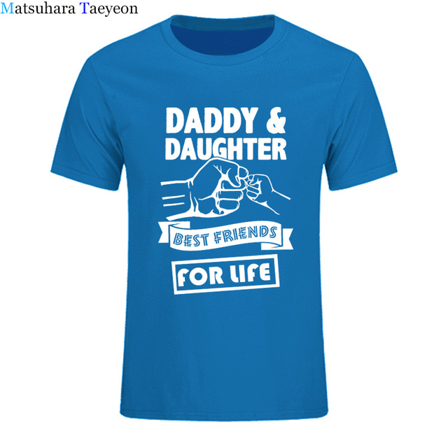 125b0463f6 t shirt Brand Daddy And Daughter Best Friends For Life Fathers Day Dad Gift  Funny Printed