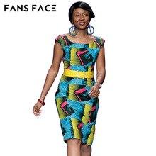 8d8c5a179d2 FANS FACE D été Robe Robes Africaines Pour Femmes O-cou Rétro Imprimé  Dashiki Robe Femme Mini Court Sexy Vintage Boho Vêtements