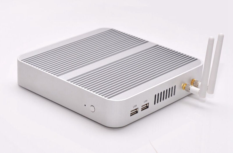 Image 2 - Linux/Windows 10 pc i5 4200U/5550U i5 5250U/5200U i5 7200U CPU Fanless htpc.3 Years Warranty Nuc HD620 Freeshipping-in Mini PC from Computer & Office