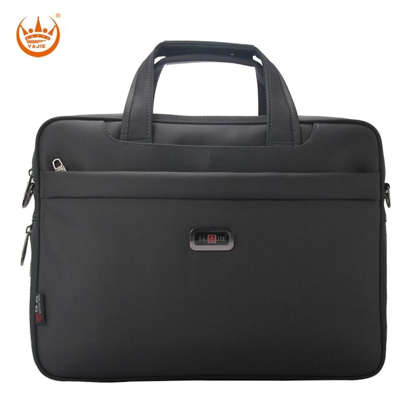 Brand Waterproof Men Briefcase  14 15.6 Inch Laptop Business Oxford Handbag For Men Large Capacity Messenger Shoulder Bag