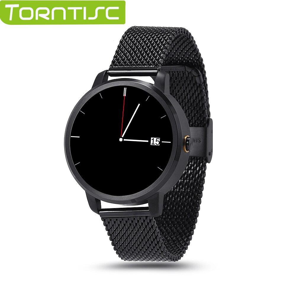 TORNTISC V360 Smart Watch Bluetooth font b Smartwatch b font Intelligent Clock for Apple iPhone Huawei