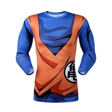 Dragon Ball Z Super Saiyan compression Tshirt