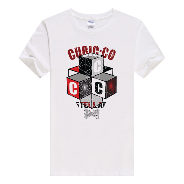 631807b85 Mens t shirts fashion 2017 the cubic Printed Hipster Tees Knitted O-Neck  short sleeves Cotton Casual tshirt hot sell B474