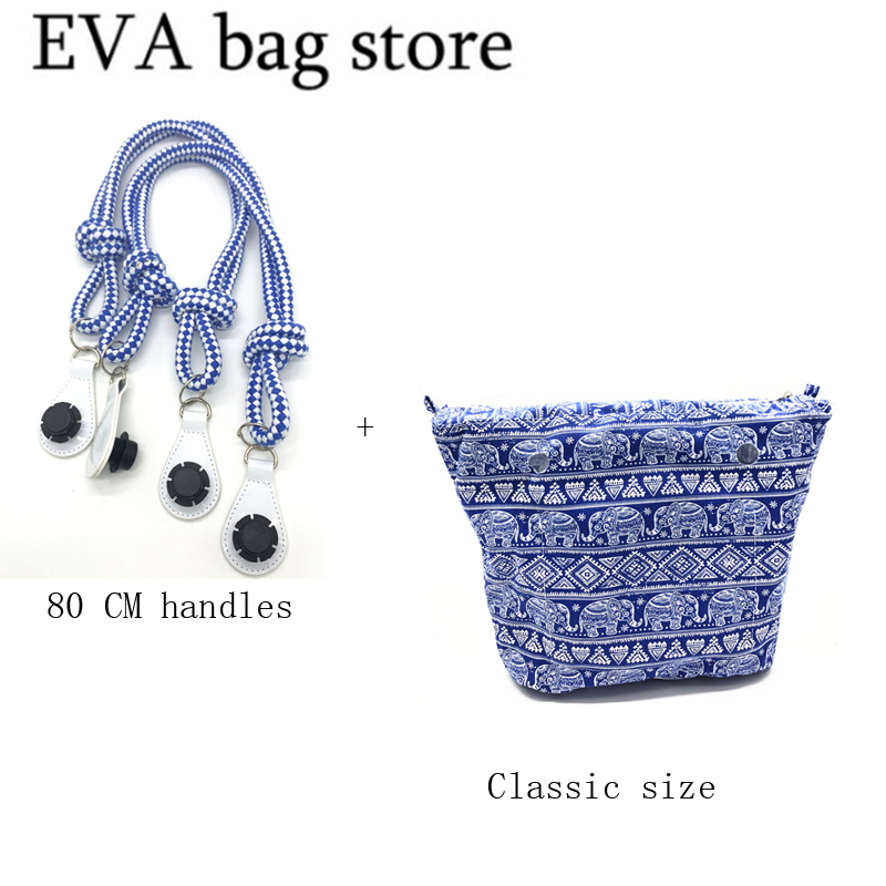 1 Pair Classic For Obag Handles And For Obag Classic Inner Bag Removable Matching Women Fashion Style Shoulder Bag With Handbag