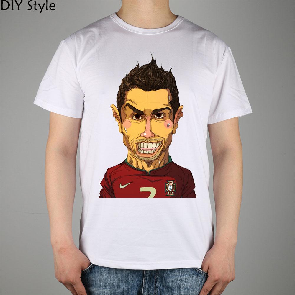 T-shirts Tops & Tees Cristiano Ronaldo New Design T-shirt Premium Quality