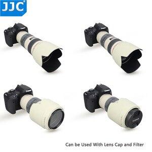 Image 2 - JJC Bajonet Zonnekap Shade voor CANON EF 70 200mm f/4L IS USM/EF 70  200mm f/4L USM vervang ET 74 vervangt ET 74